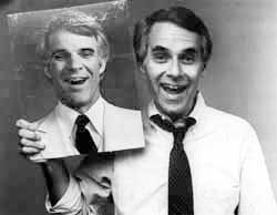 Bob Alper with Photo of Steve Martin